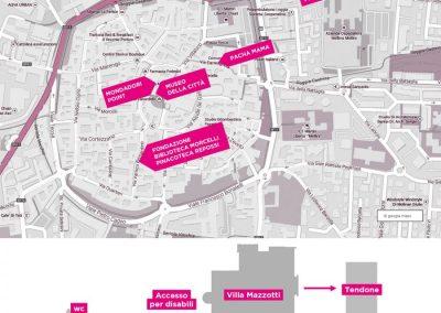 Mappa eventi collaterali