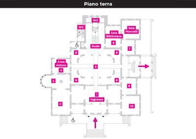 Mappa Pianoterra