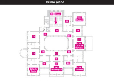 Mappa Primopiano