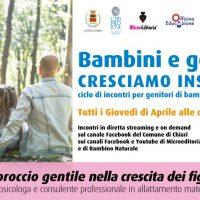 Antonella Sagone: l'approccio gentile nella crescita dei figli. - Diretta video