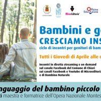 Isabella Micheletti: il linguaggio del bambino piccolo. - Diretta video