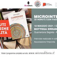 Bottega errante Edizioni - Guarneriana Segreta - Diretta Video