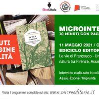 Ediciclo editore - Le vie di Francesco - Un cammino di spirito e natura tra Firenze, Assisi e Roma -Diretta video