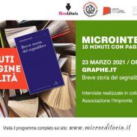 Graphe.it - Breve storia del segnalibro - Diretta Video